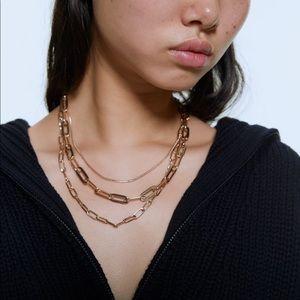 ZARA Multi-Chain Necklace
